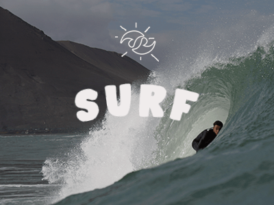 surf - stoked Chile